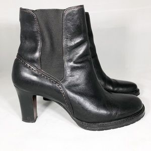 Cole Haan Black Darby Booties Size 6.5